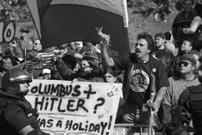 Indianie z Denver protestują przeciw świętowaniu Dnia Kolumba