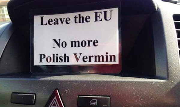 No more Polish vermin